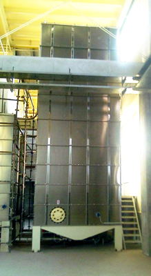 Stainless steel panel Silos